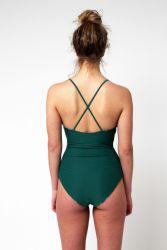 Yacht & Smith Womens Fashion One Piece Bathing Suit Size Medium - Womens Swimwear