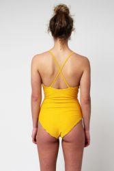 Yacht & Smith Womens Fashion Color Reversible One Piece Bathing Suit Size Medium - Womens Swimwear