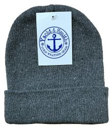 60 Units of Yacht & Smith Kids Winter Beanie Hat Assorted Colors - Winter Beanie Hats