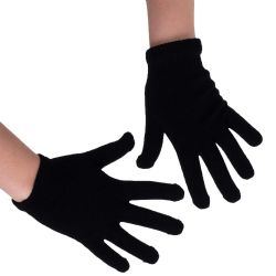 36 Units of Yacht & Smith Unisex Black Magic Gloves - Knitted Stretch Gloves