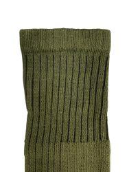 36 of Yacht & Smith Military Grade Wick Dry Crew Socks ,heavy Duty Boot Sock, Army Green