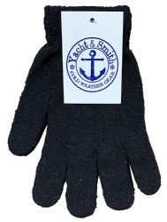 36 Units of Yacht & Smith Mens Womens, Warm And Stretchy Winter Gloves (36 Pairs Assorted) - Knitted Stretch Gloves
