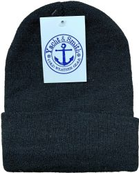 36 Units of Yacht & Smith Winter Beanies, Wholesale Bulk Cold Weather Thermal Warm Stretch Skull Cap, Mens Womens Unisex Hat (mens 3 Pc Combo a) - Winter Care Sets
