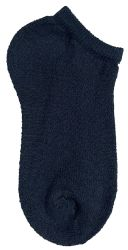 60 Units of Yacht & Smith Kids No Show Ankle Socks Size 6-8 Black - Girls Ankle Sock