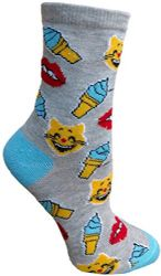 Yacht&smith 5 Pairs Of Womens Crew Socks, Fun Colorful Hip Patterned Everyday Sock (color Prints f) - Womens Crew Sock