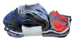 60 Bulk Yacht & Smith Assorted Pack Of Mens Low Cut Printed Ankle Socks Bulk Buy