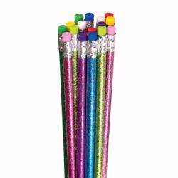 96 Bulk Glitter Pencils