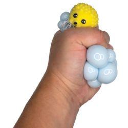 24 Wholesale Animal Mesh Squeeze Balls