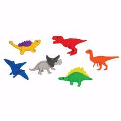 10 Bulk 6ct. The Lost Age: Dinosaur Erasers