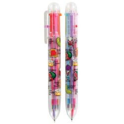 15 Bulk 1ct. Scent-Sibles Scented 6 Color Pen