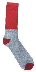36 Bulk Yacht & Smith Mens King Size Thermal Ring Spun Non Binding Top Cotton Diabetic Socks With Smooth Toe Seem