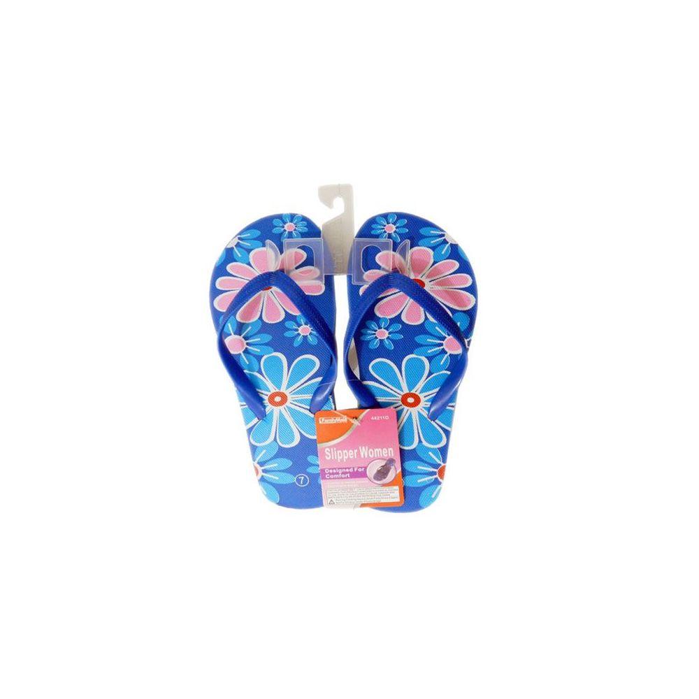 Wholesale Footwear Ladies Assorted Print Flip Flops