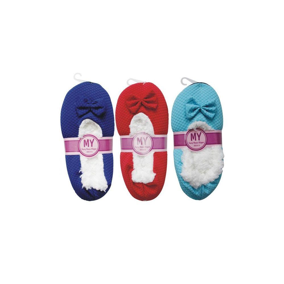 Wholesale Footwear Winter House Slipper Texture