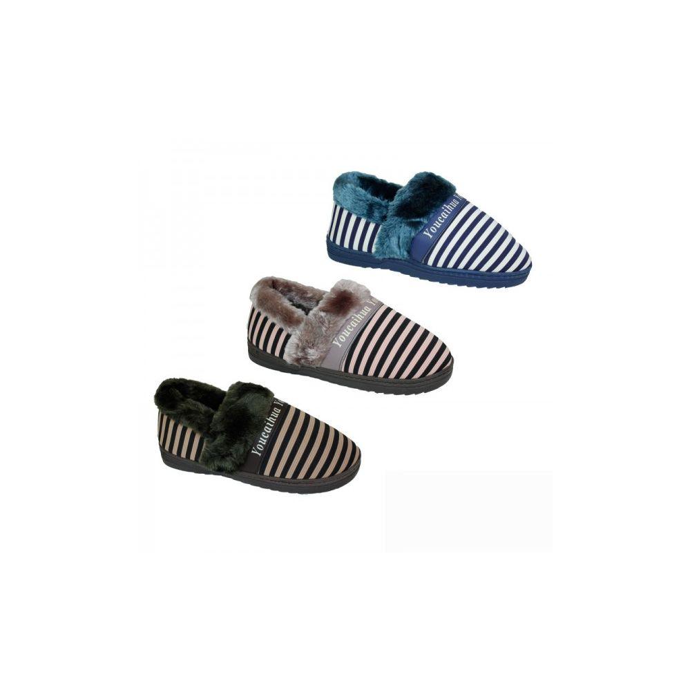 Wholesale Footwear Ladies Winter House Slippers