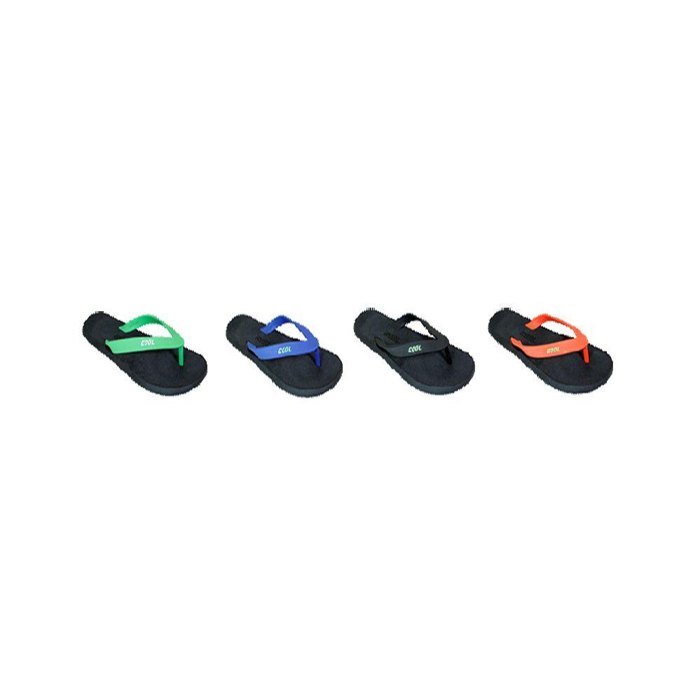 Wholesale Footwear Woman Black Platfrom Color Flip Flops