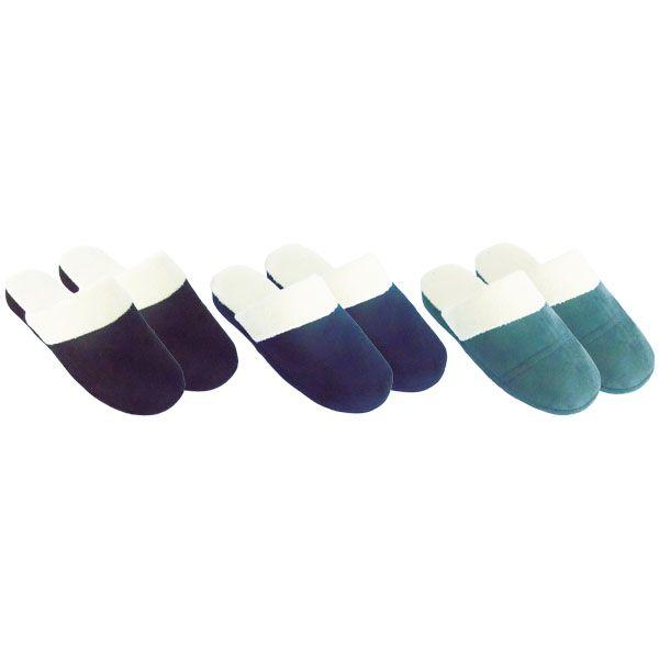 Wholesale Footwear Men's Winter Slipper Size 9-14