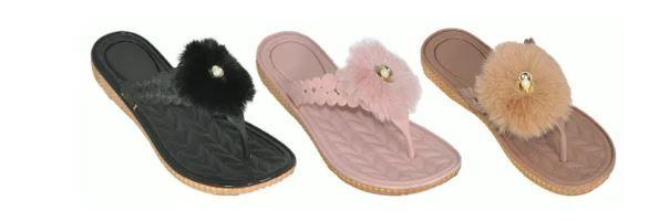Wholesale Footwear Womans Fashion Flip Flops