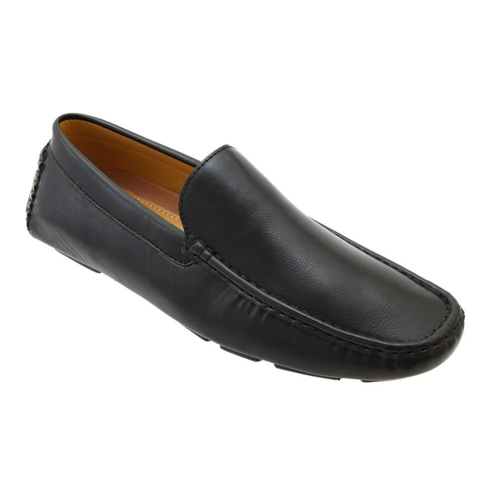 Wholesale Footwear Mens Loafer Driver Shoes In Black