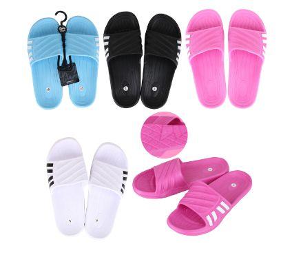 Wholesale Footwear Cc Sandal Ladies 4 Side Stripes
