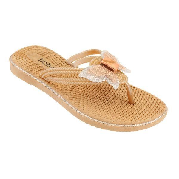 Wholesale Footwear Women's Butterfly Sandals In Rose Gold