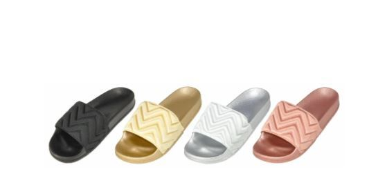 Wholesale Footwear Women's Slip On Slides