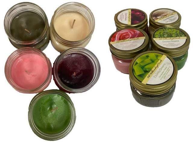 48 Bulk Small Candle Jar Assorted Flavor