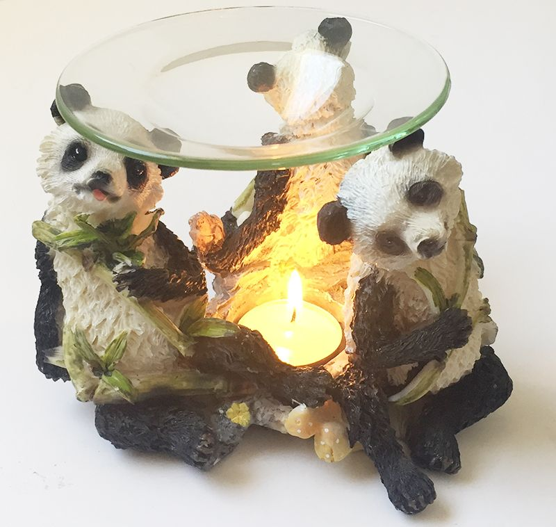 24 Bulk Panda Tea Light Burner