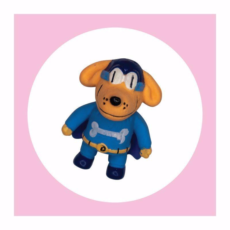 10 Bulk 4ct. Dog Man 3D Puzzle Erasers