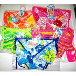 48 Units of Ladies 2pc Bikini Swim Suit Packed On Hanger - Womens Swimwear