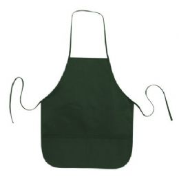 72 Units of Cotton Twill Apron Forest - Kitchen Aprons