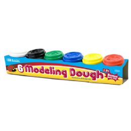 24 Units of Multi Color Modeling Dough With Bonus Mold Cap - Clay & Play Dough