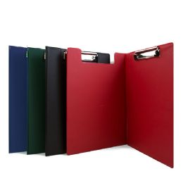 48 Units of Bazic A4 Size Pvc Clip Folder W/ Low Profile Clip - Clipboards and Binders
