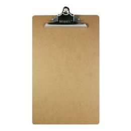 48 Units of Bazic Legal Size Hardboard Clipboard W/ Sturdy Spring Clip - Clipboards and Binders