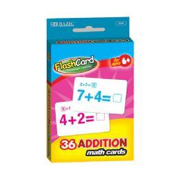 144 Bulk Bazic Addition Flash Cards (36/pack)