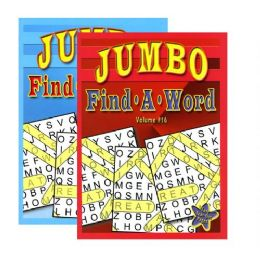 48 Units of Jumbo FinD-A-Word Puzzles Book - Crosswords, Dictionaries, Puzzle books