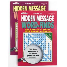 96 Units of Kappa Hidden Message Word Finds Book - Crosswords, Dictionaries, Puzzle books