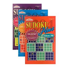 24 Units of Kappa Sudoku Puzzles Book - Digest Size - Crosswords, Dictionaries, Puzzle books