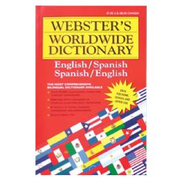 48 Units of Webster Jumbo 320 Pg. SpanisH-English Dictionary - Crosswords, Dictionaries, Puzzle books