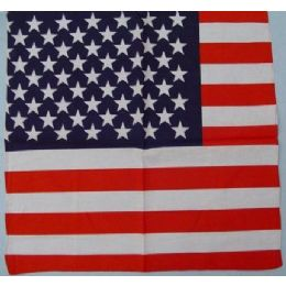 120 Units of Bandana-American Flag - 4th Of July