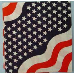 120 Units of Bandana-Americana Wave - 4th Of July