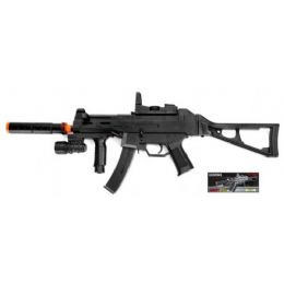 12 Bulk Airsoft Spring Rifle W / Laser & Flashlight