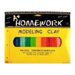 48 Units of Multi Color Modeling Clay 12 Pack - Clay & Play Dough