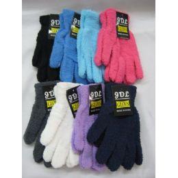 120 Bulk Ladies Super Fuzzy Glove