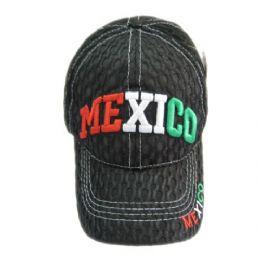 72 Units of 8382 Mexico Kids Baseball Cap - Kids Baseball Caps