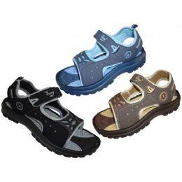 36 Units of Toddler Velcro Sandal - Boys Flip Flops & Sandals
