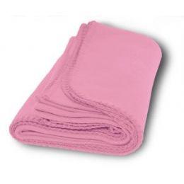 36 Units of Promo Fleece Blankets In Pink - Fleece & Sherpa Blankets