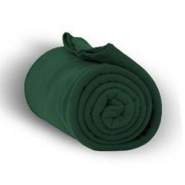 24 Units of Fleece Blankets In Forest - Fleece & Sherpa Blankets