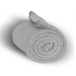24 Units of Fleece Blankets In Heather - Fleece & Sherpa Blankets