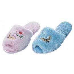 36 Units of Ladies Plush Slipper - Women's Slippers