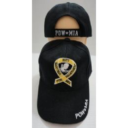 48 Units of Pow/mia Hat Youu Are Not Forgotten - Military Caps